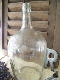 Glazen wijnfles