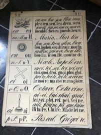 Schoolplaat uit Frankrijk, nr 2/11