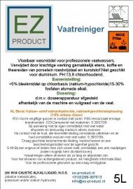 Vaatreiniger 5 Liter EZ-VR-5
