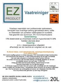 Vaatreiniger 20 Liter EZ-VR-20