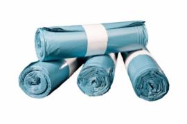 Vuilniszak 65/25x140 T70 Blauw 10x10 zakken