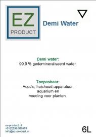 Demi water 5 liter jerrycan