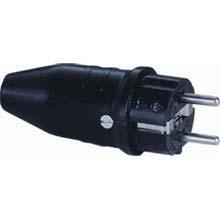 Stekker Rubber 230 V