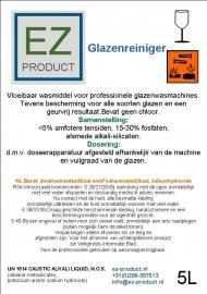 Glazenreinger 5 liter pakket 3x5 liter jerrycan