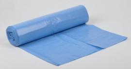 Vuilniszakken Blauw 120 liter 80x110 T 70 10x20 zakken
