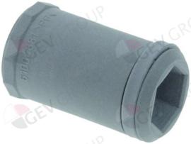 schroefconnectie voor wasarm ø 32mm L 54mm