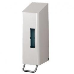 Santral RVS zeepdispensers 600 ml, Wit Zeep