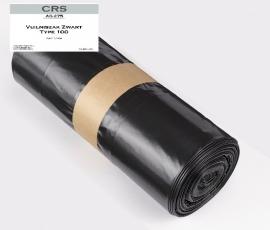 Vuilniszak Zwart 65/25x140cm T70 zwart 10st.