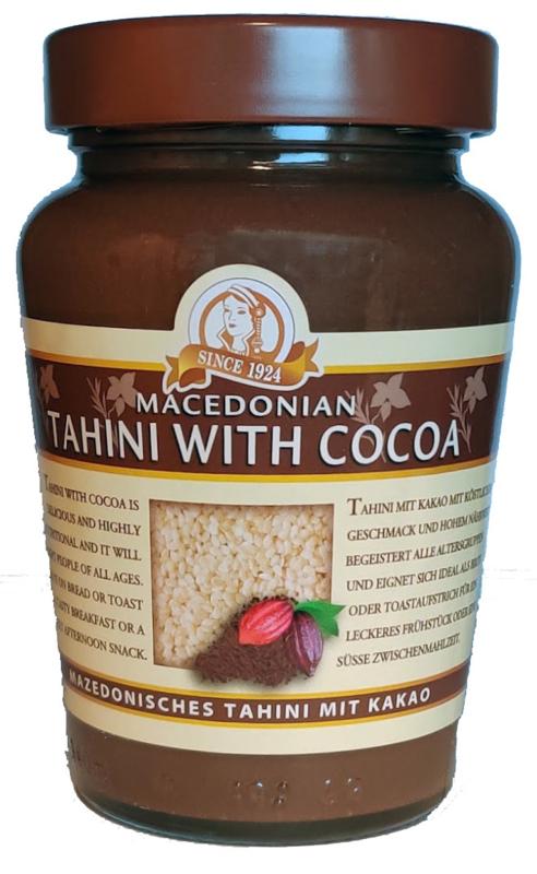 Tahini met cacao
