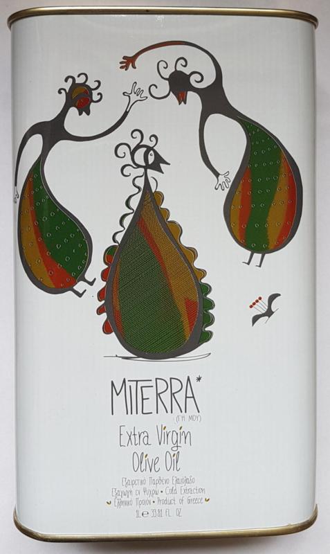 Olijfolie  extra vierge Miterra 1 liter