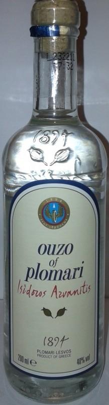 Ouzo Plomari karafaki