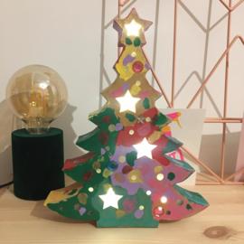 Kerstboom met licht - vrijdag 17 december * 16.15 uur