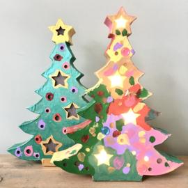 Kerstboom met licht!