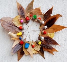 Herfstkrans of voederhuisje knutselen - 19 november