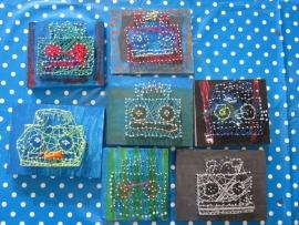 Knutselpakket * Spijkerplankje timmeren! * vanaf 6 kids