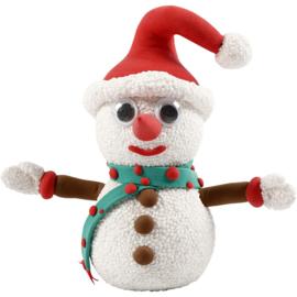 Knutselpakket * Sneeuwpop Funny Friends * 1 persoon