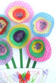 Fleurig schilderijtje knutselen & lekker eten! - vrijdag 3 maart 2017