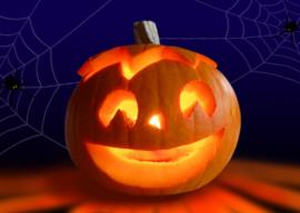 Halloween pompoen snijden! - woensdag 25 oktober 2017