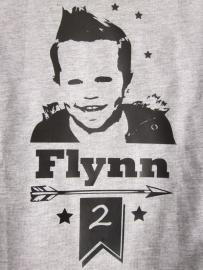 Verjaardagsshirt Flynn