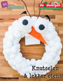Olaf-krans maken & pannenkoek! - vrijdag 6 januari 2017