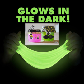 Glitter- of Glow-in-the-Dark-slijm - vrijdag 24 mei 2019 * VOL!