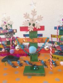 Kinderfeestje * Kerstboompjes timmeren! *