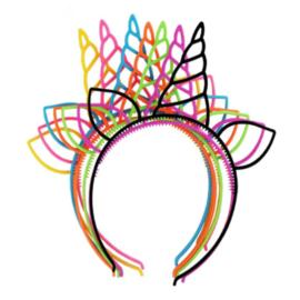 Unicorn haarband in verschillende kleuren