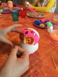 Kinderfeestje * Foam Clay spaarvarkentje of uil! *