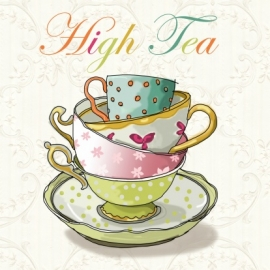 Creatieve High Tea - woensdag 9 november 2016 *VOL!*