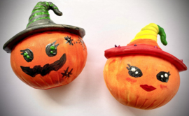 Herfstvakantie * Halloween Squishy - vrijdag 29 oktober * 13.30 uur * één plekjes vrij!