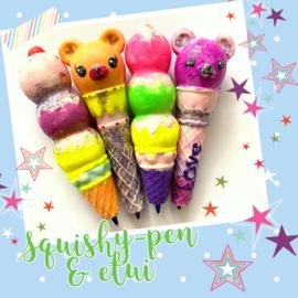Kinderfeestje * Squishy-pen & etui! *