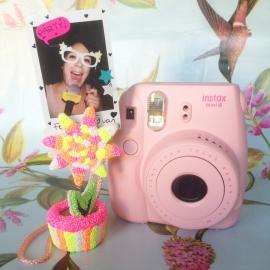 Kinderfeestje * Foam Clay bloempotje met Instaxfoto! *