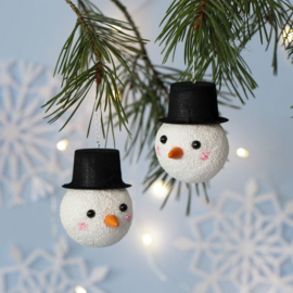 Kerstvakantie * Schattige sneeuwpopjes - woensdag 5 januari * 9.30 uur