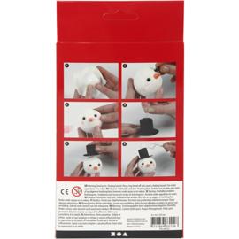 Knutselpakket * Schattige sneeuwpop * vanaf 6 kids