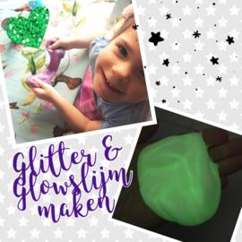 Knutselpakket * Glitter & Glowslijm maken! * vanaf 6 kids