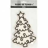 Kerstboom - figuur om te decoreren