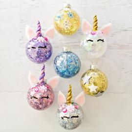 Unicorn kerstballen - woensdag 11 december 2019 * 16.00 uur