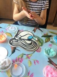 Kinderfeestje * Foam Clay zeefiguren! *