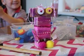 Robots knutselen - 21 & 28 januari 2015