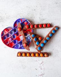 Pop-it Chocolade reepjes  * vrijdag 8 oktober 2021 * 14.45 uur
