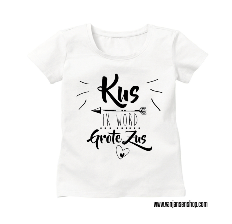 Grote Zus-shirt Pijl