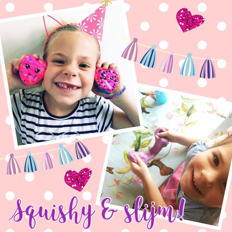 Kinderfeestje * Squishy & Slijm! *