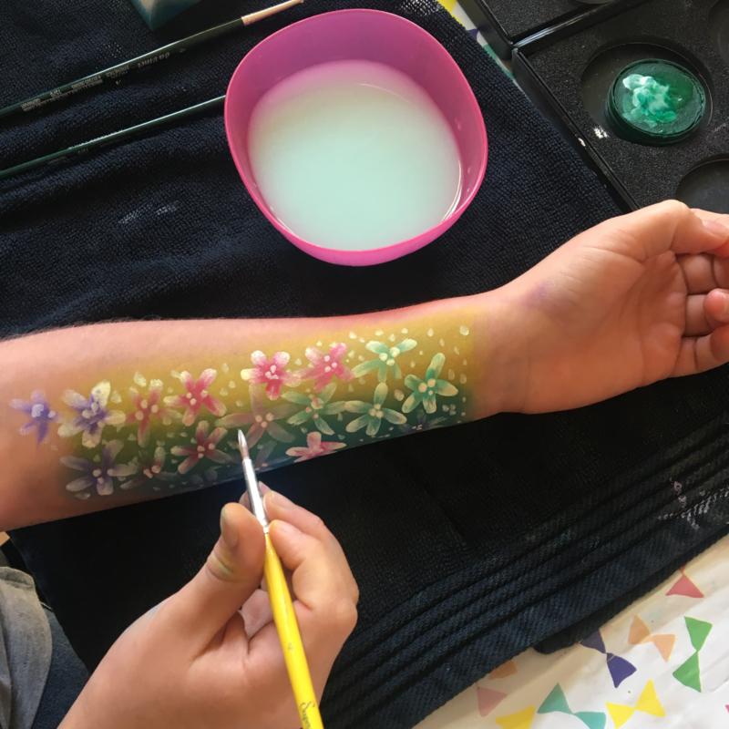 Kinderworkshop schminken! * woensdag 29 mei 15.00 uur - bijna VOL!