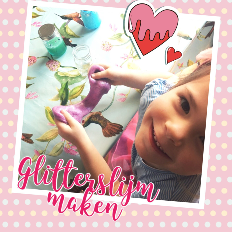 Knutselpakket * Glitterslijm maken! * vanaf 6 kids