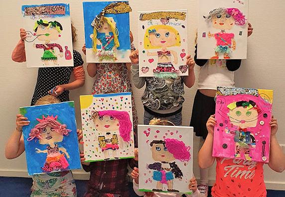 LOL Surprise Party-schilderij - vrijdag 14 februari * 15.00 uur - nog één plekje vrij!