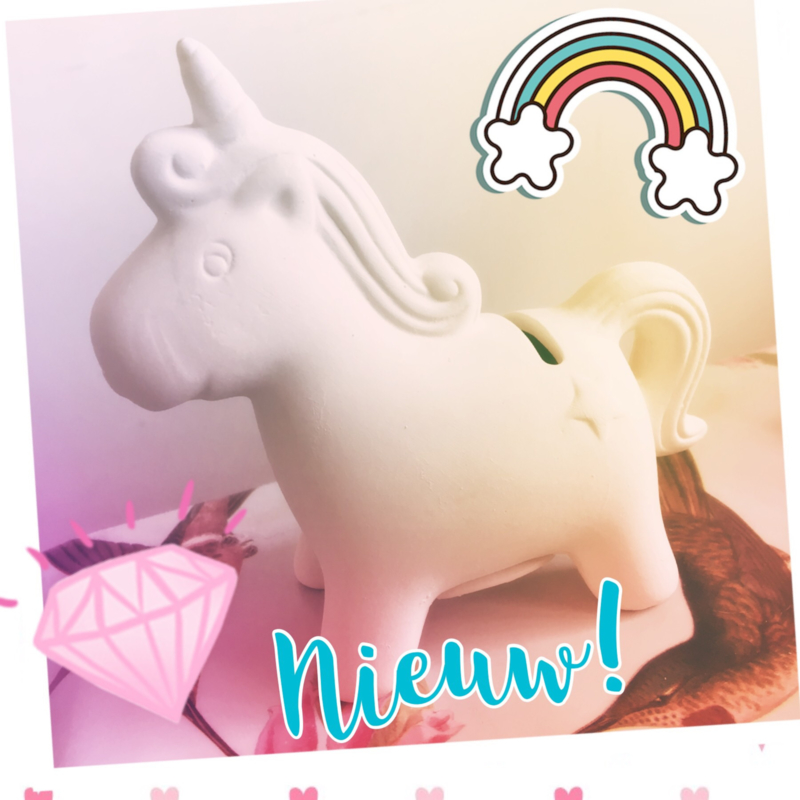 Knutselpakket * Foam Clay eenhoorn / unicorn! * 1 persoon