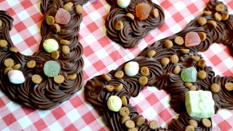 Extra datum! Chocoladeletter Sinterklaas maken - zaterdag 30 november 2019 * 13.30 uur