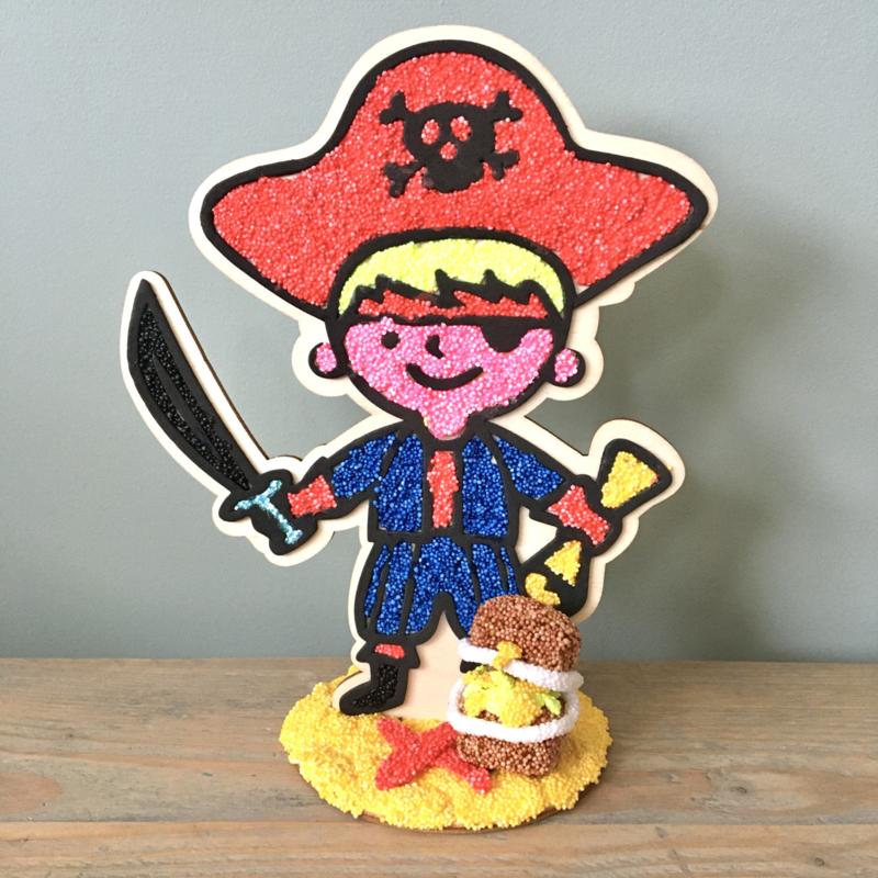 Piraat - figuur om te decoreren