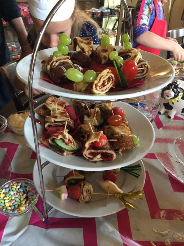 Wonderbaar Kinderfeestje * Maak zelf je Pannenkoeken High Tea SX-65