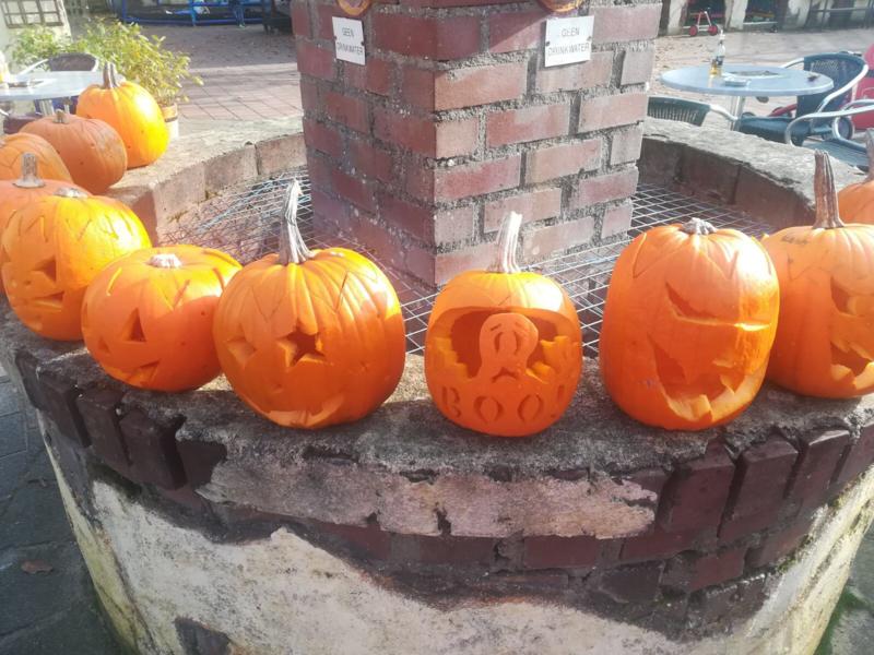 Herfstvakantie * Halloween pompoen snijden & pannenkoek! - vrijdag 18 oktober 2019 * 15.30 uur * Bijna Vol!